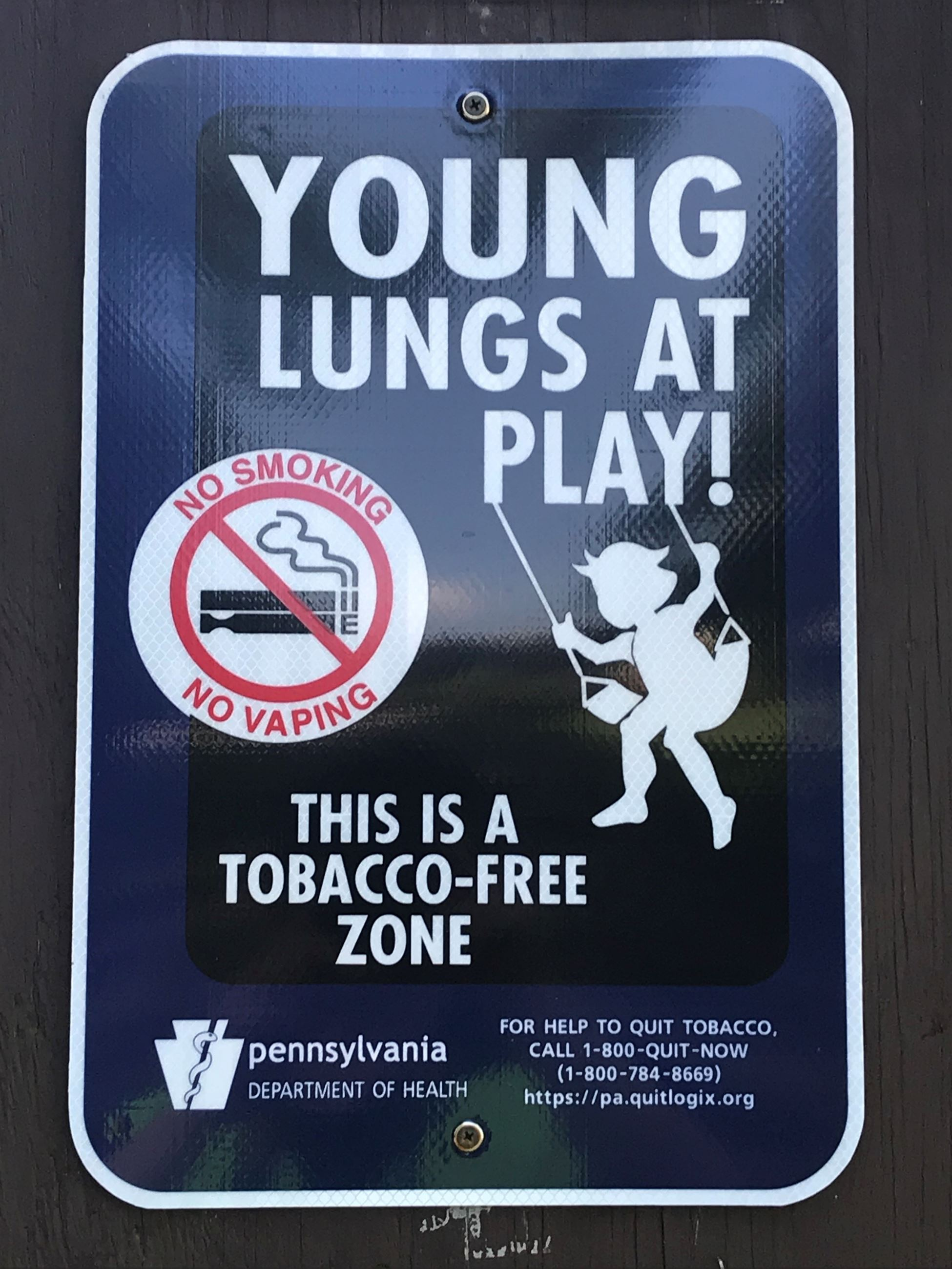 Young Lungs at Play Sign